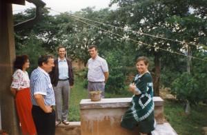 Besuch bei 9J2FR in Kafue (Sambia)