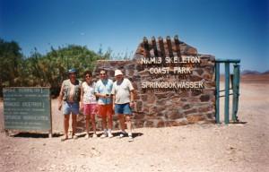 Eingang zur Wüste Namib in V5
